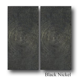 HYPNOSIS, PAIR OF RECTANGLE LARGE PLATE