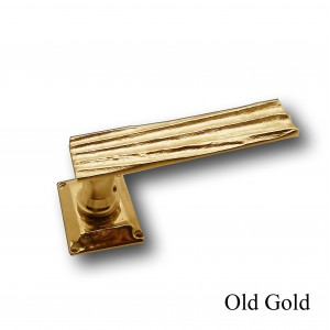 HOLYWOOD, DOOR HANDLE SET + RECTANGLE SPRING ROSACE