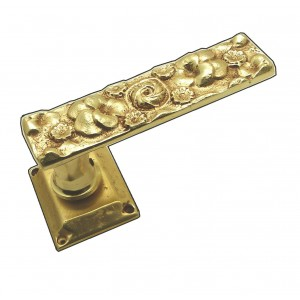 FLOWER STYLE, PAIR OF DOOR HANDLE